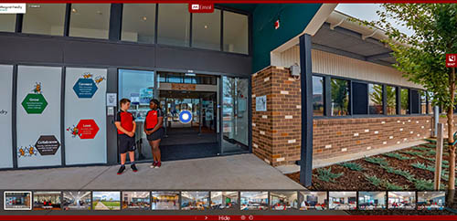 Margaret Hendry School virtual tour